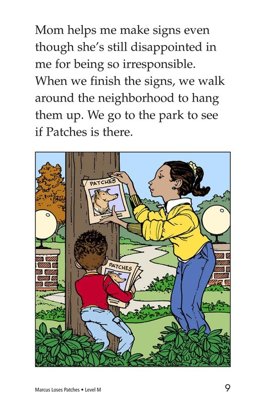 Book Preview For Marcus Loses Patches Page 9