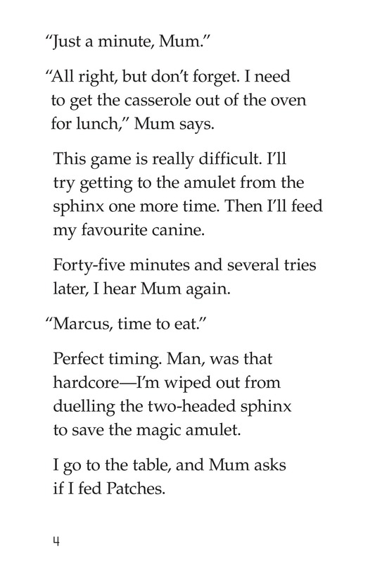 Book Preview For Marcus Loses Patches Page 4