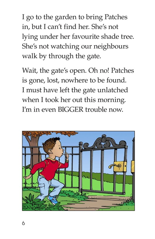 Book Preview For Marcus Loses Patches Page 6