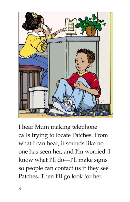 Book Preview For Marcus Loses Patches Page 8