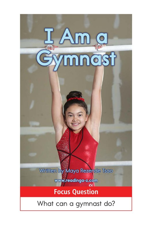 Book Preview For I Am a Gymnast Page 1