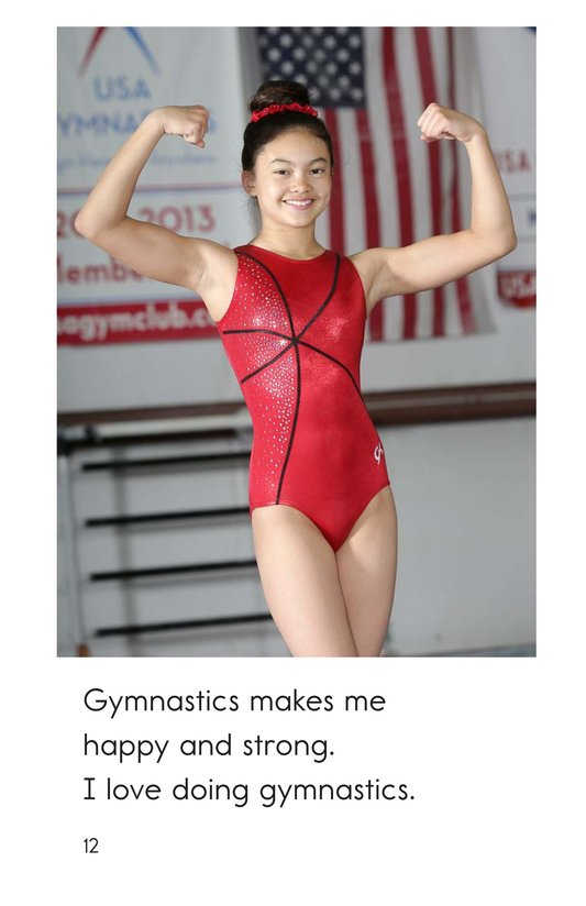 Book Preview For I Am a Gymnast Page 12