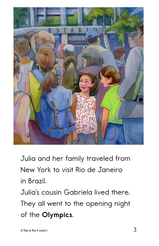 Book Preview For A Trip to Rio Page 3