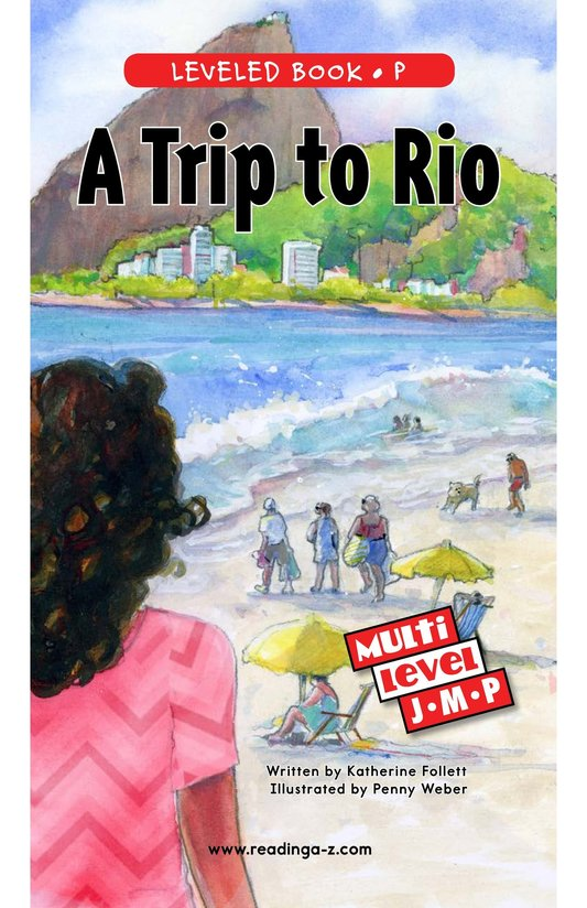 Book Preview For A Trip to Rio Page 0