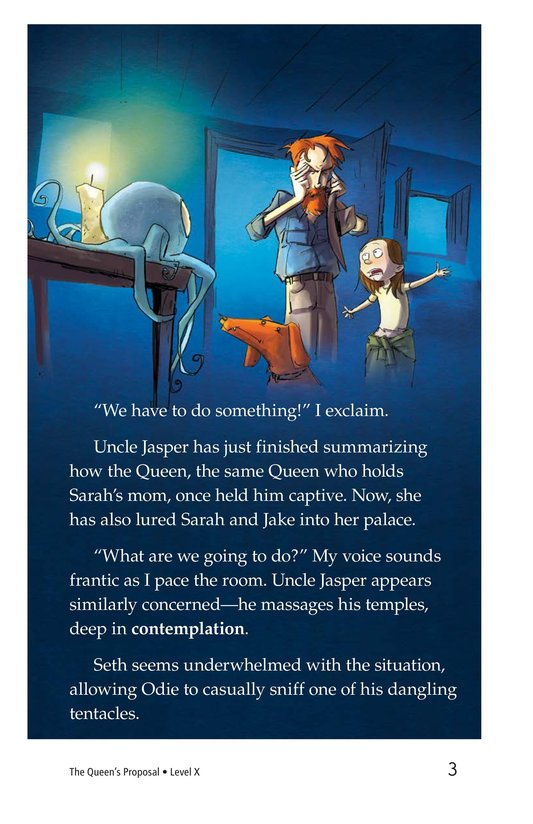 Book Preview For The Queen's Proposal Page 3