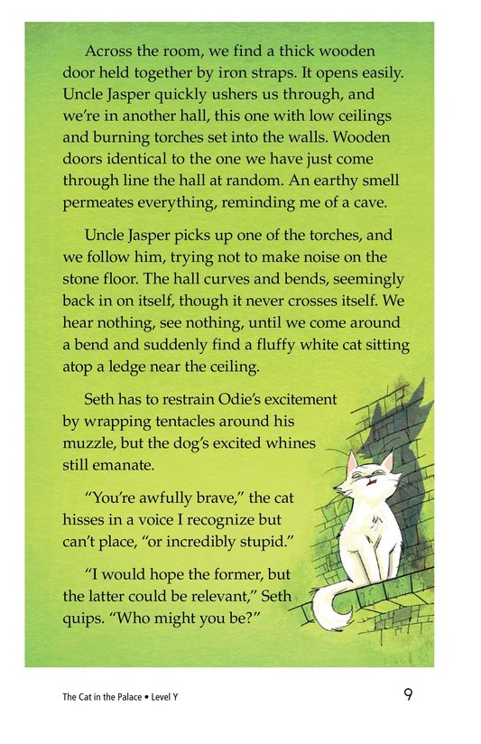 Book Preview For The Cat in the Palace Page 9