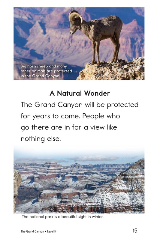 Book Preview For The Grand Canyon Page 15