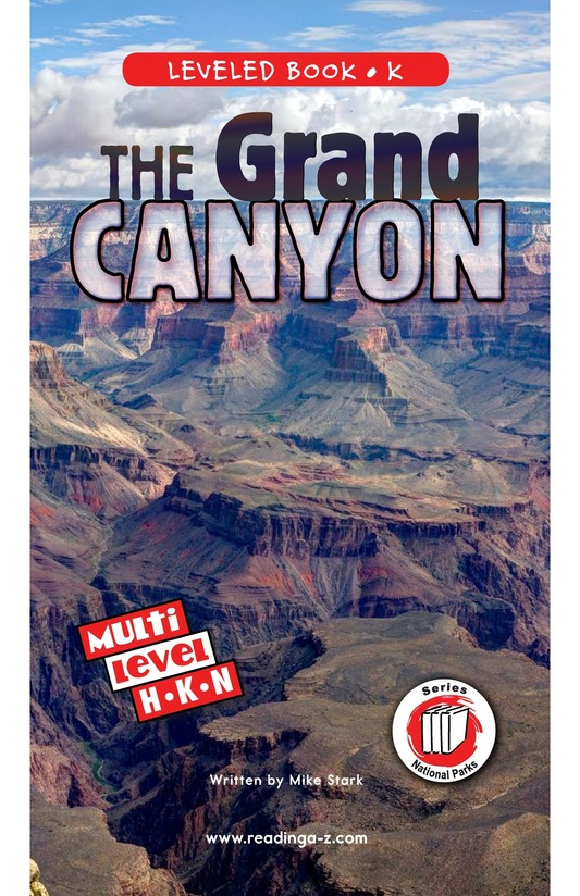 Book Preview For The Grand Canyon Page 0