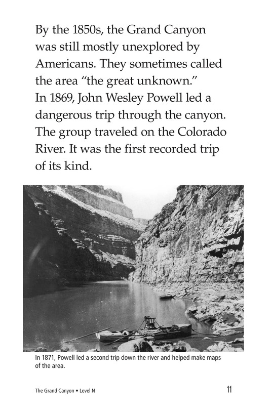 Book Preview For The Grand Canyon Page 11