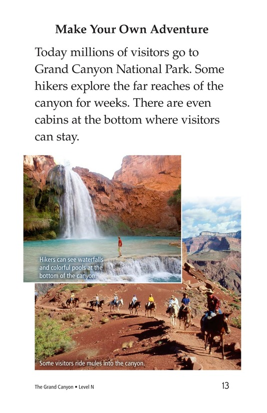 Book Preview For The Grand Canyon Page 13