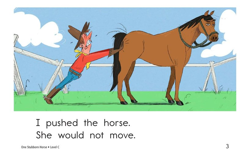 Book Preview For One Stubborn Horse Page 3