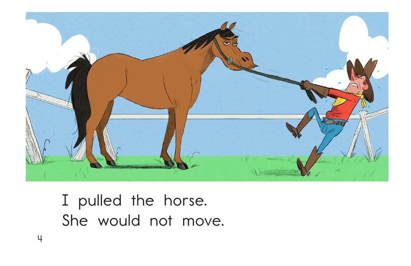 Book Preview For One Stubborn Horse Page 4