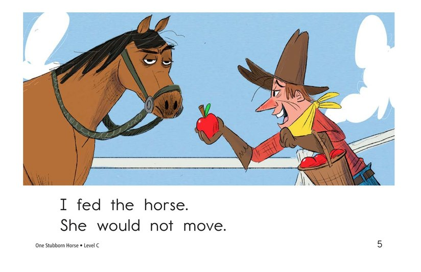 Book Preview For One Stubborn Horse Page 5