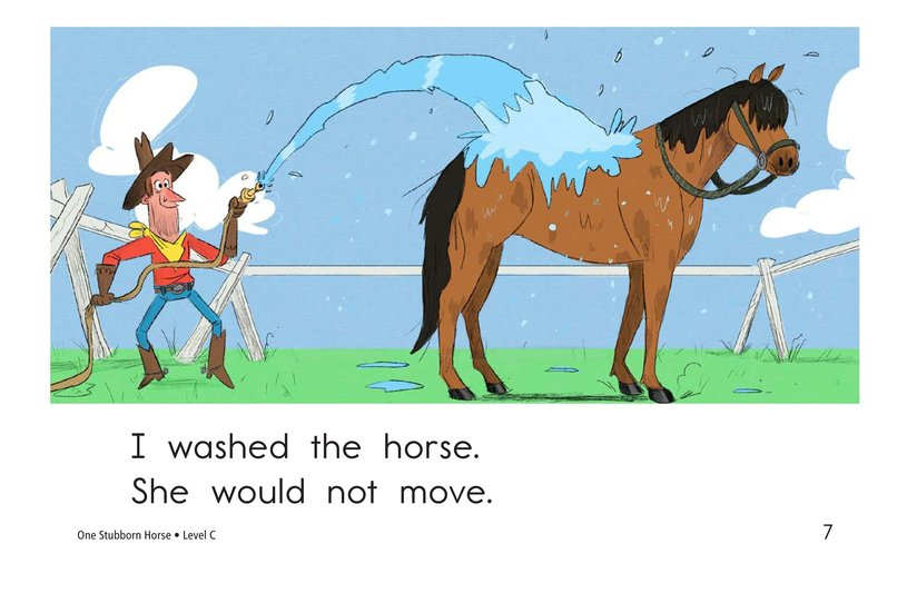 Book Preview For One Stubborn Horse Page 7