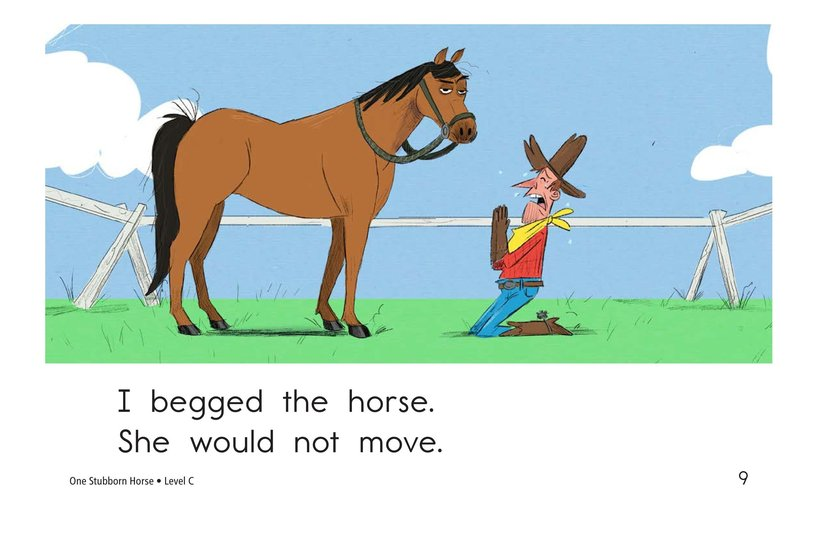 Book Preview For One Stubborn Horse Page 9