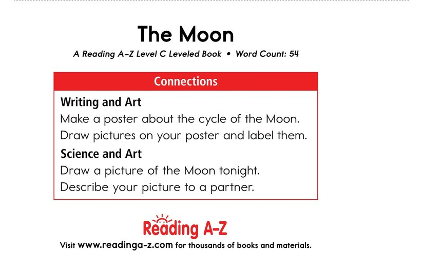 Book Preview For The Moon Page 11