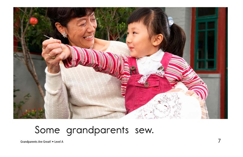 Book Preview For Grandparents are Great! Page 7