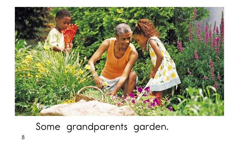 Book Preview For Grandparents are Great! Page 8