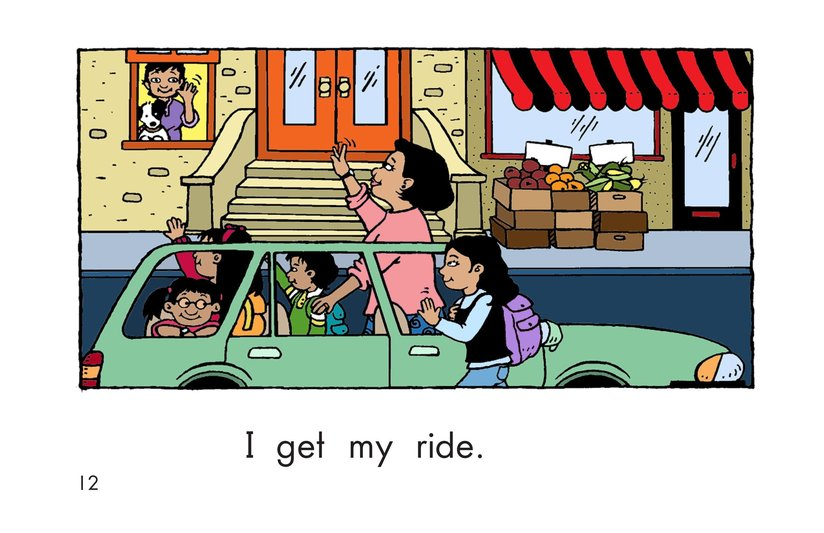 Book Preview For Maria Goes to School Page 12