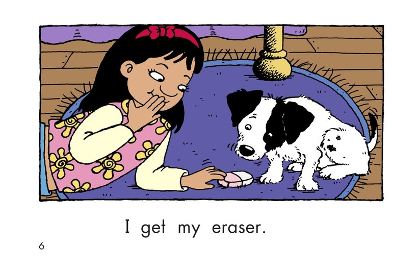 Book Preview For Maria Goes to School Page 6
