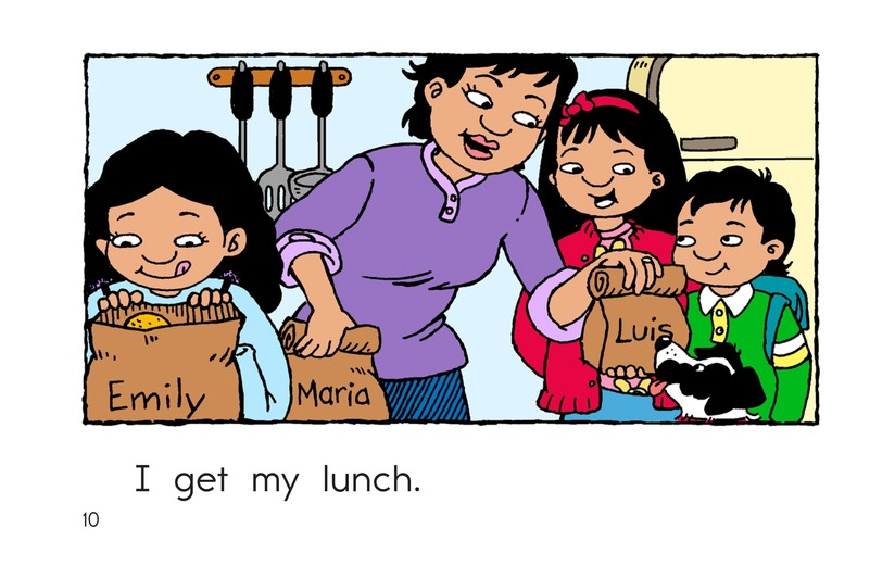 Book Preview For Maria Goes to School Page 10