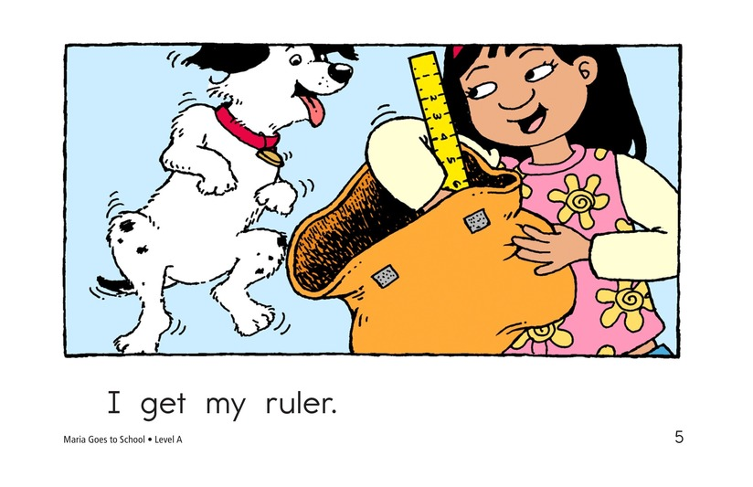 Book Preview For Maria Goes to School Page 5