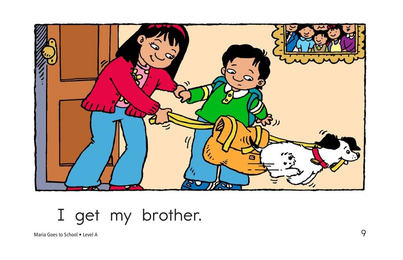 Book Preview For Maria Goes to School Page 9