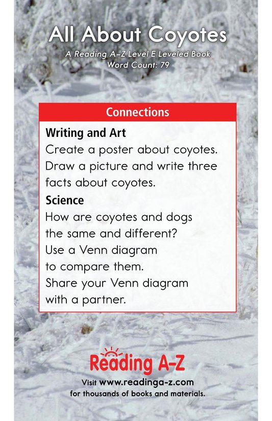 Book Preview For All About Coyotes Page 13