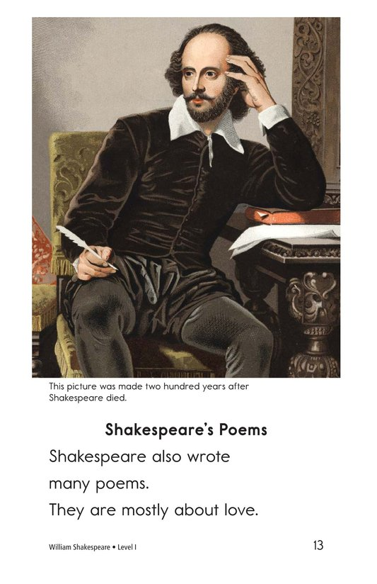 Book Preview For William Shakespeare Page 13