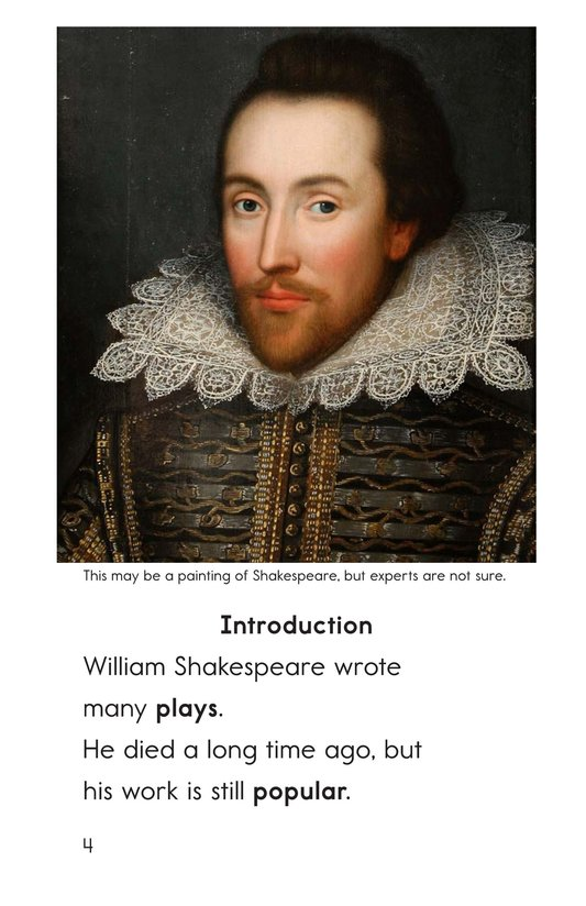 Book Preview For William Shakespeare Page 4