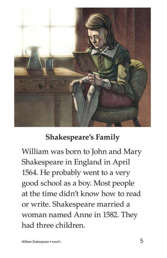 Book Preview For William Shakespeare Page 5