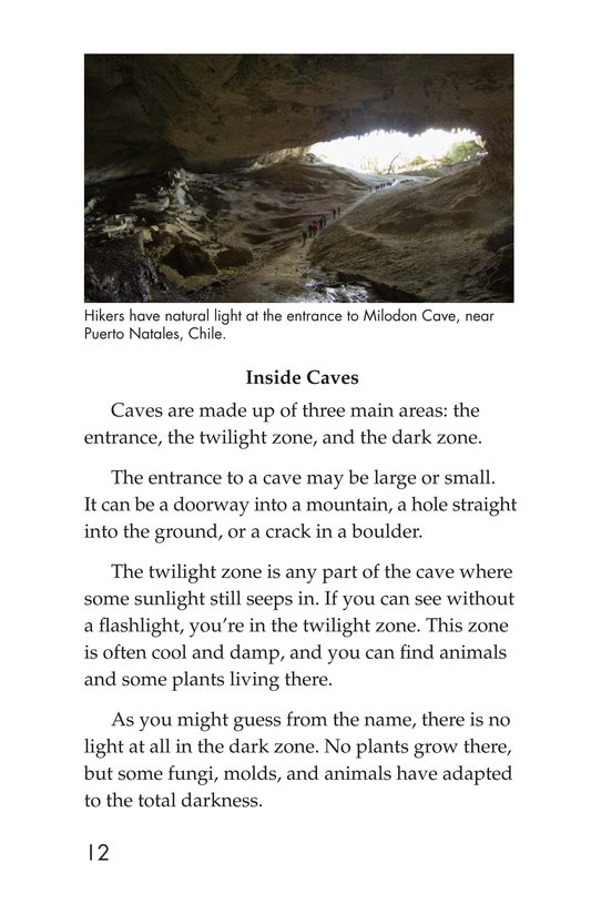 Book Preview For Mysterious Caves Page 12