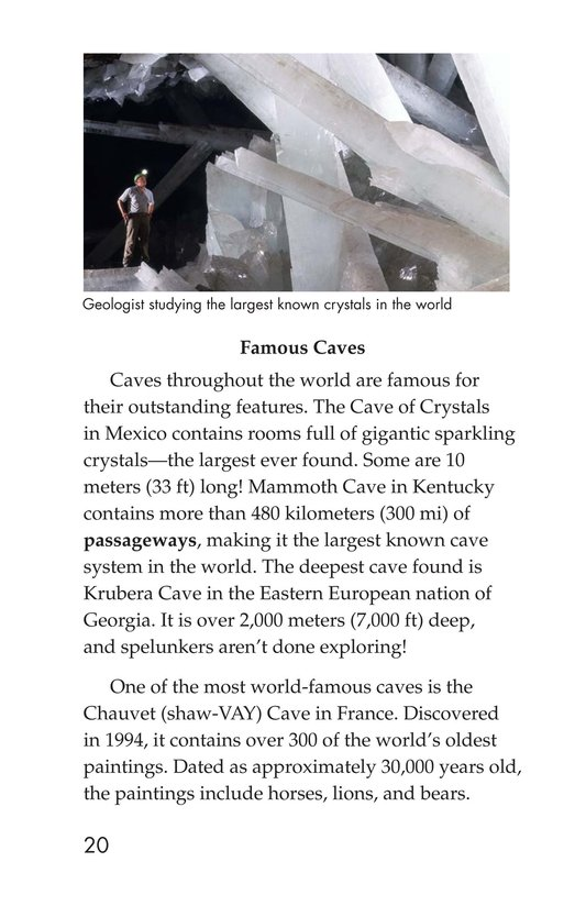 Book Preview For Mysterious Caves Page 20