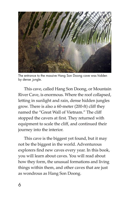 Book Preview For Mysterious Caves Page 6