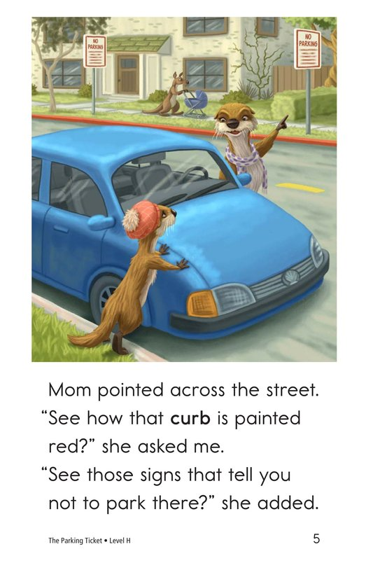 Book Preview For The Parking Ticket Page 5