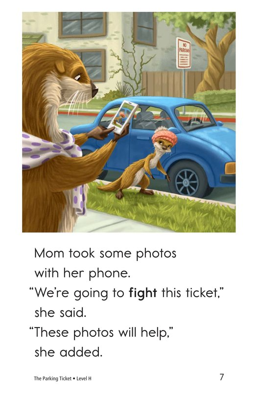 Book Preview For The Parking Ticket Page 7