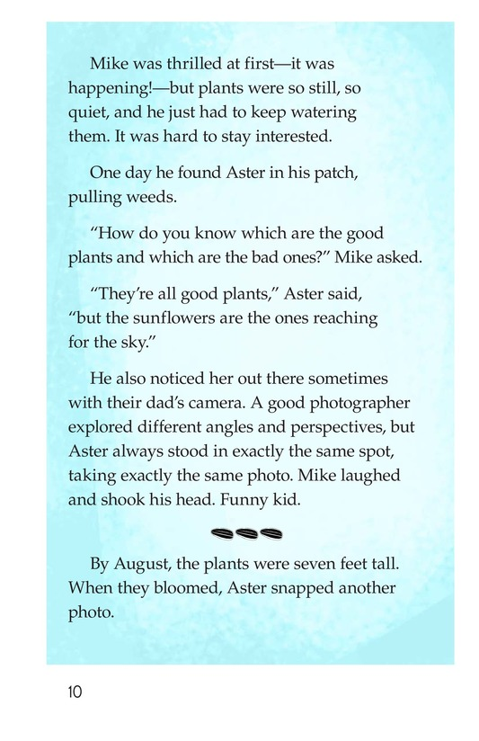Book Preview For Book 3: Seeds and Sunflowers Page 10