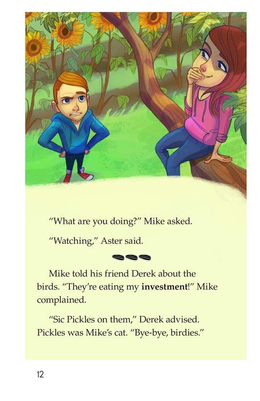 Book Preview For Book 3: Seeds and Sunflowers Page 12
