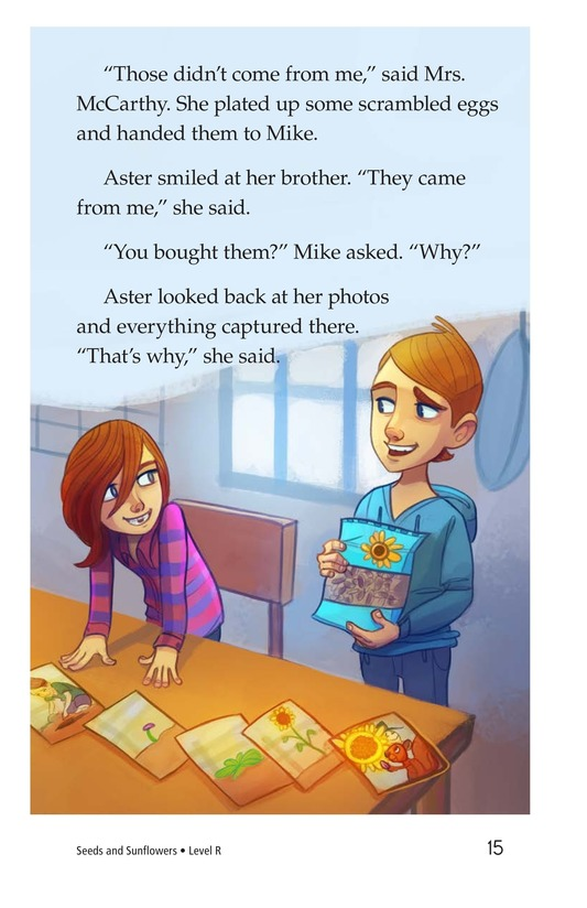 Book Preview For Book 3: Seeds and Sunflowers Page 15