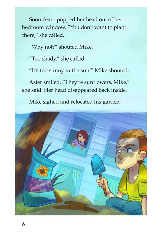 Book Preview For Book 3: Seeds and Sunflowers Page 6