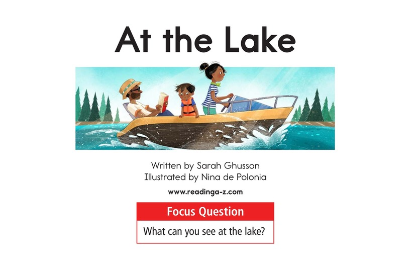 Book Preview For At the Lake Page 1