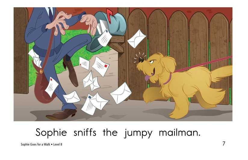 Book Preview For Sophie Goes for a Walk Page 7