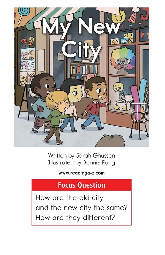 Book Preview For My New City Page 1