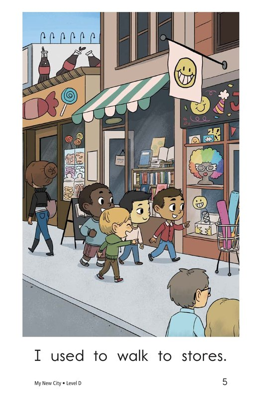 Book Preview For My New City Page 5