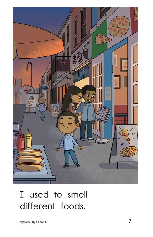 Book Preview For My New City Page 7