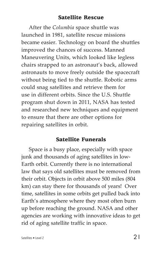 Book Preview For Satellites Page 21