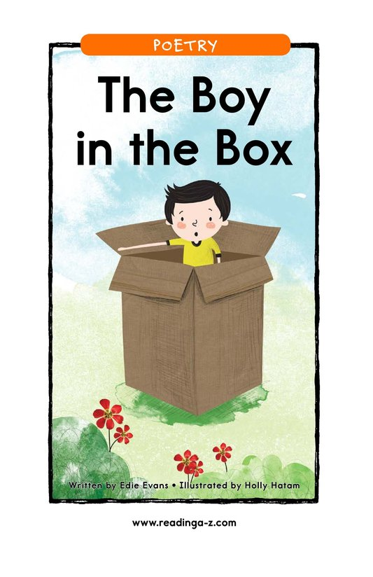 Book Preview For The Boy in the Box Page 1