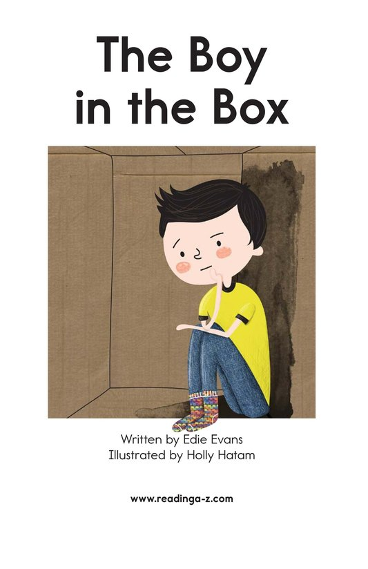 Book Preview For The Boy in the Box Page 2