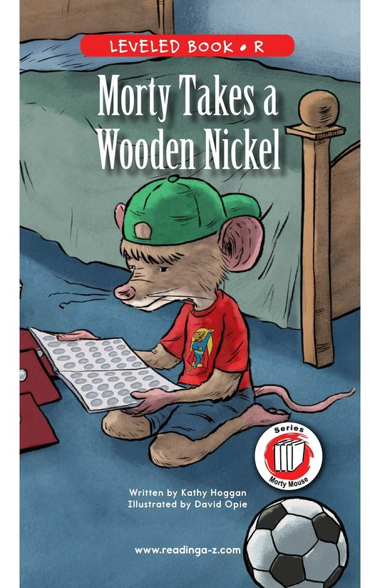 Book Preview For Morty Takes a Wooden Nickel Page 0