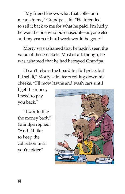Book Preview For Morty Takes a Wooden Nickel Page 14